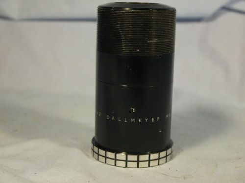 '     76mm DALLMEYER  ' Dallmeyer 76mm Max Lite Lens  Dallcoated -RARE--Digital Convertible- £199.99